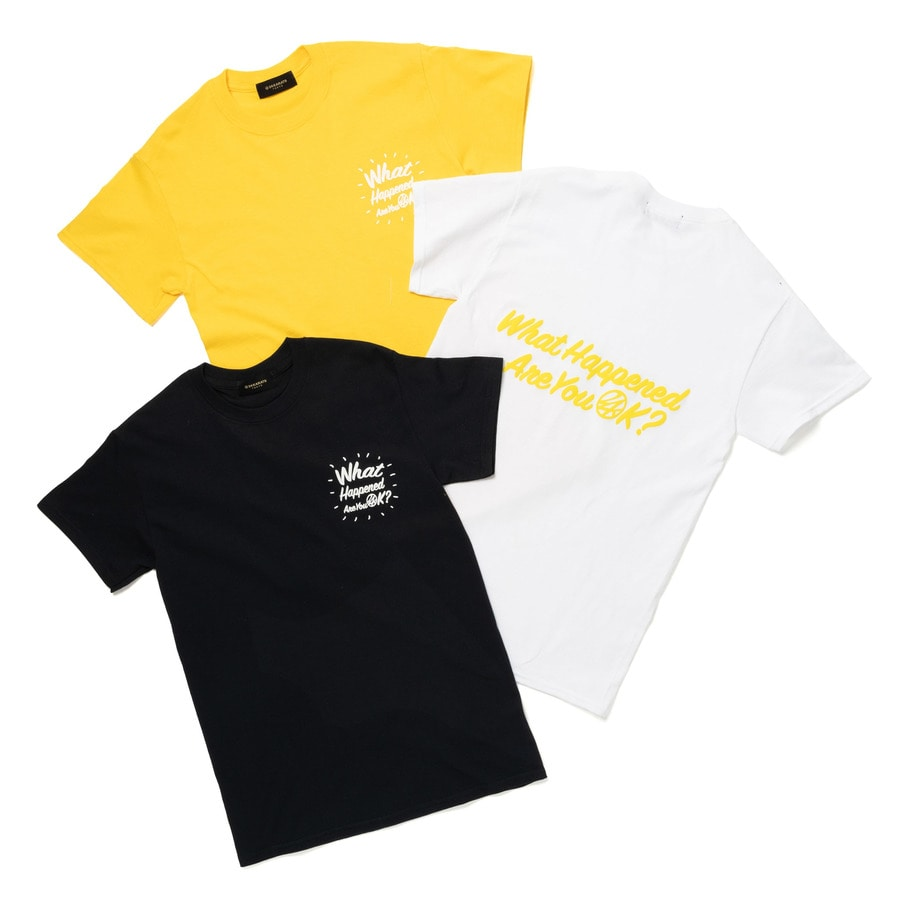 Good Will Tee SS 詳細画像 Yellow 7