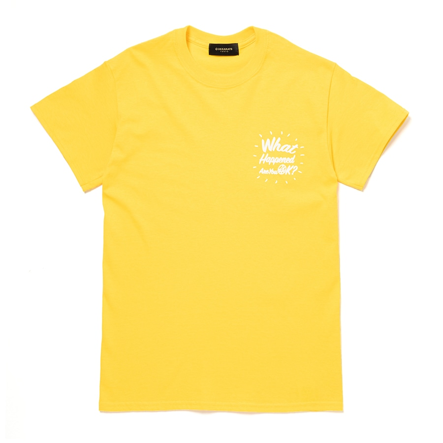 Good Will Tee SS 詳細画像 Yellow 1