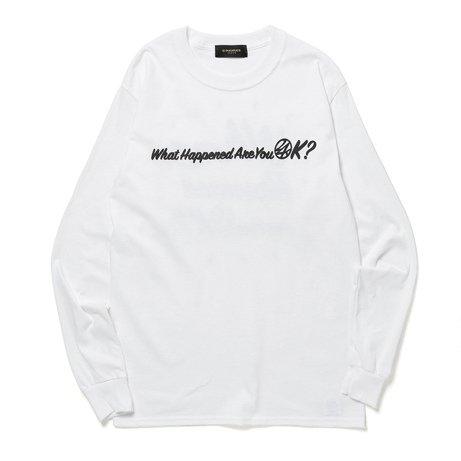 Good Will Tee LS 詳細画像 Black 1