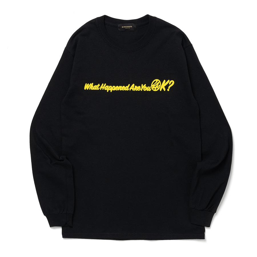 Good Will Tee LS 詳細画像 Black 2