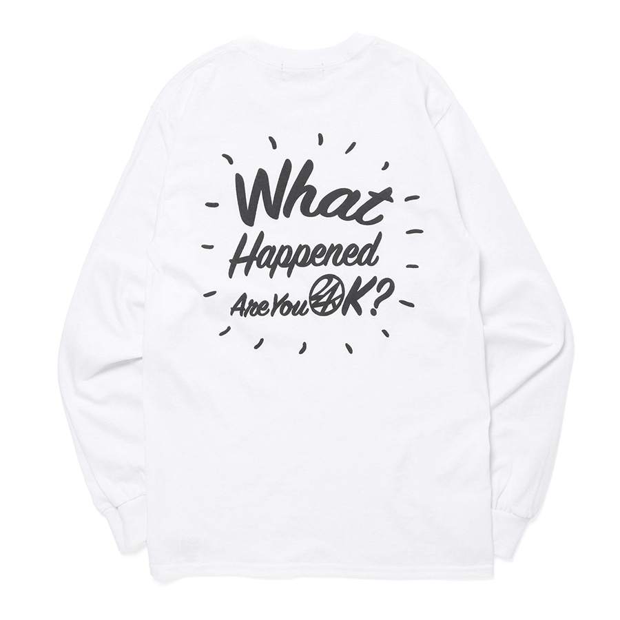 Good Will Tee LS 詳細画像 White 1