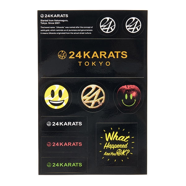 24KARATS Guard Sticker Set