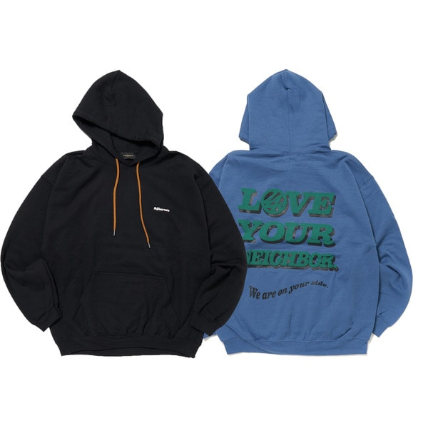 Large Message Hoodie 詳細画像