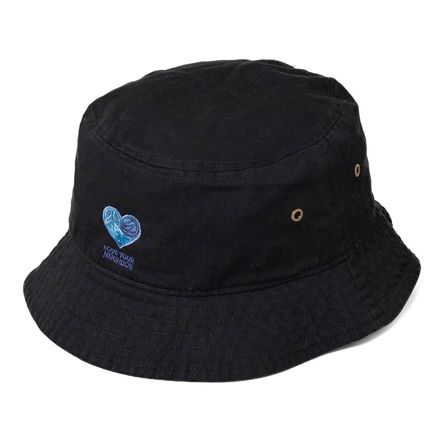 Neighbor Bucket Hat 詳細画像 Black 1