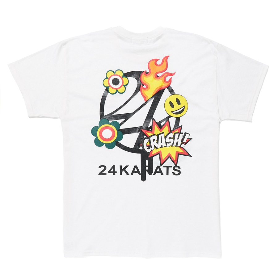 Cartoon Logo Tee SS 詳細画像 White 1