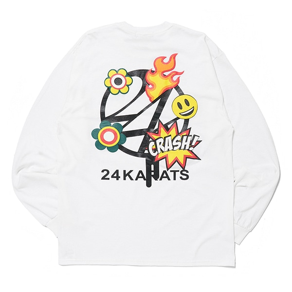 Cartoon Logo Tee LS