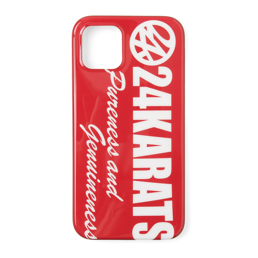 Bold Logo iPhone Case 11 Pro 詳細画像 Red 1