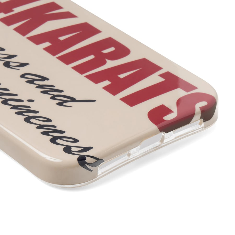 Bold Logo iPhone Case 11 詳細画像 Beige 3