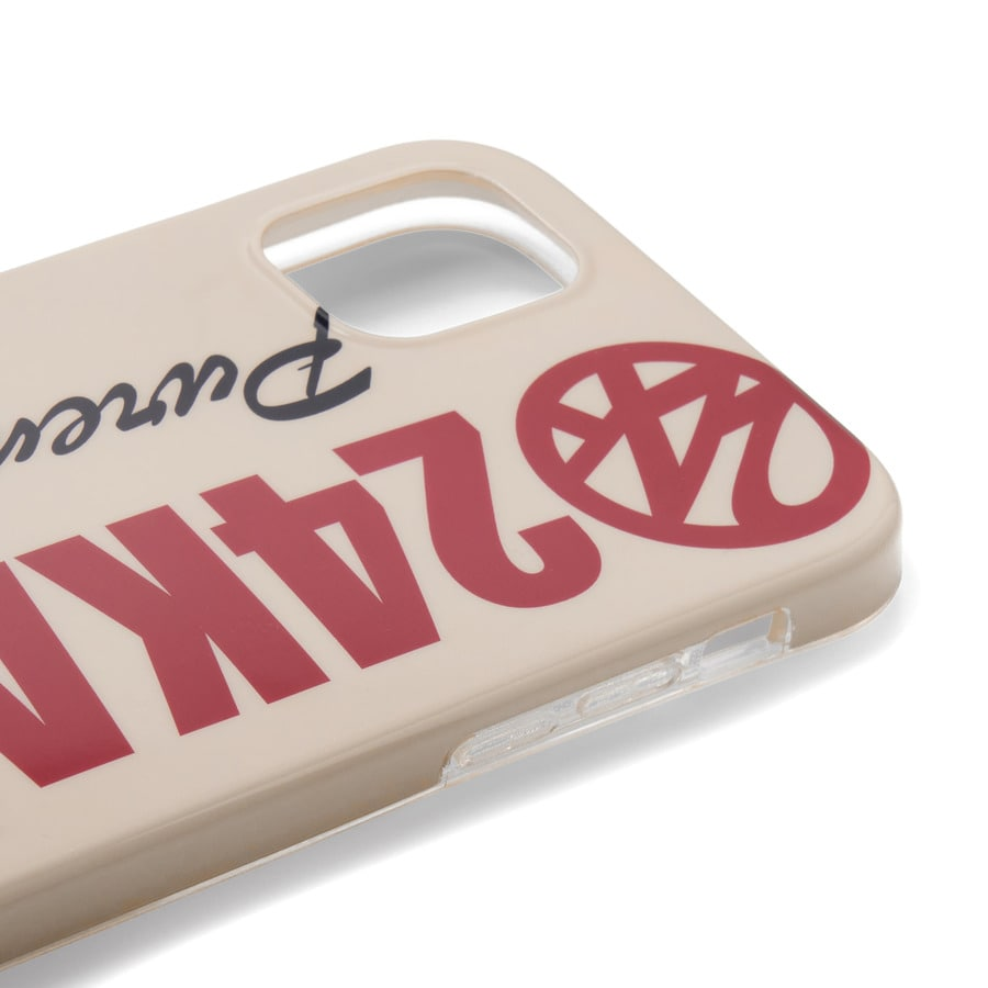 Bold Logo iPhone Case 11 詳細画像 Beige 4
