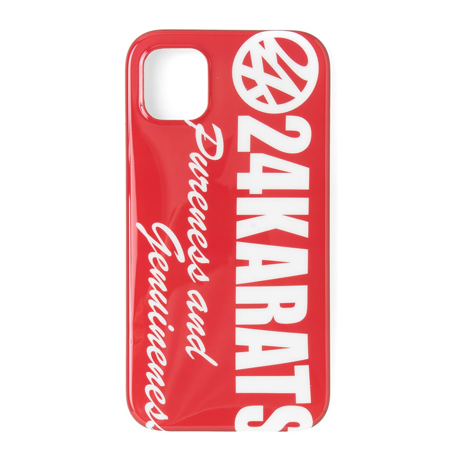 Bold Logo iPhone Case 11 詳細画像 Red 1