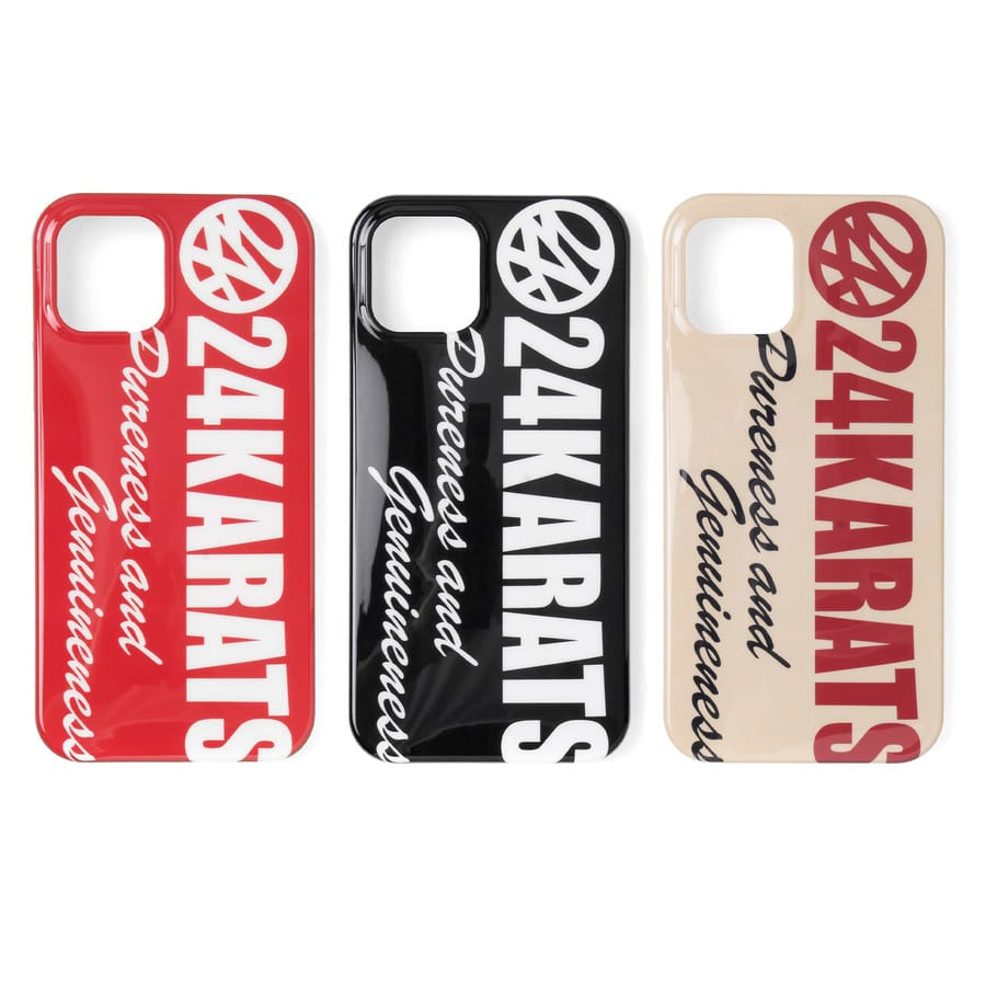 Bold Logo iPhone Case 12/12Pro 詳細画像 Black 7