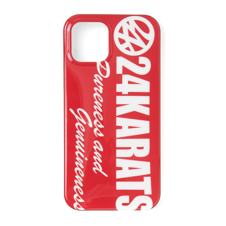 Bold Logo iPhone Case 12/12Pro 詳細画像 Red 1