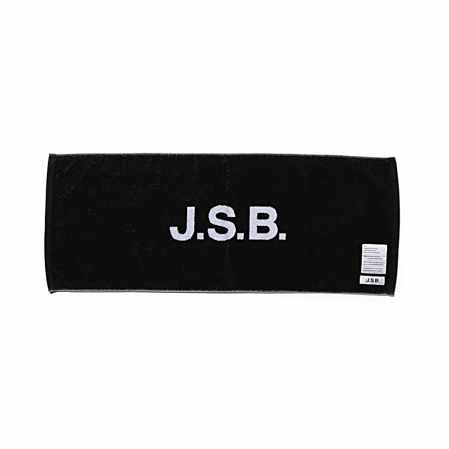 Logo Face Towel 詳細画像 Black 1
