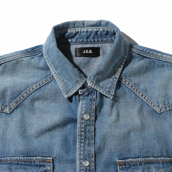 Used Denim Shirt 詳細画像