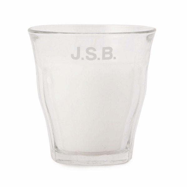 Logo Glass Candle