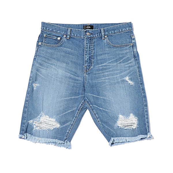 Crash Denim Shorts