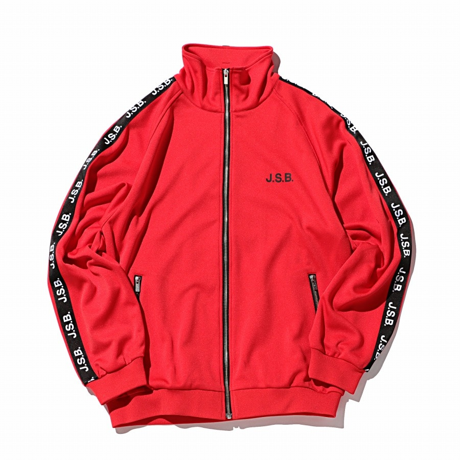 Logo Tape Track Top 詳細画像 Red 1