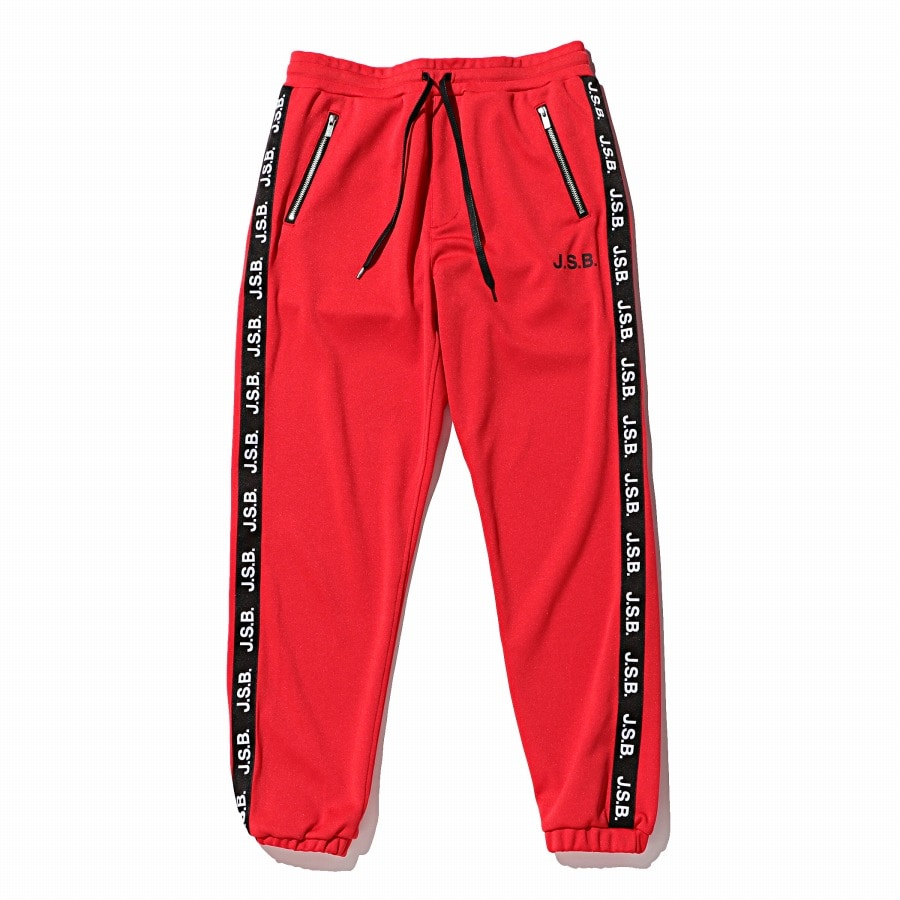 Logo Tape Track Pants 詳細画像 Red 1