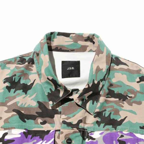 Color Camo Jacket 詳細画像