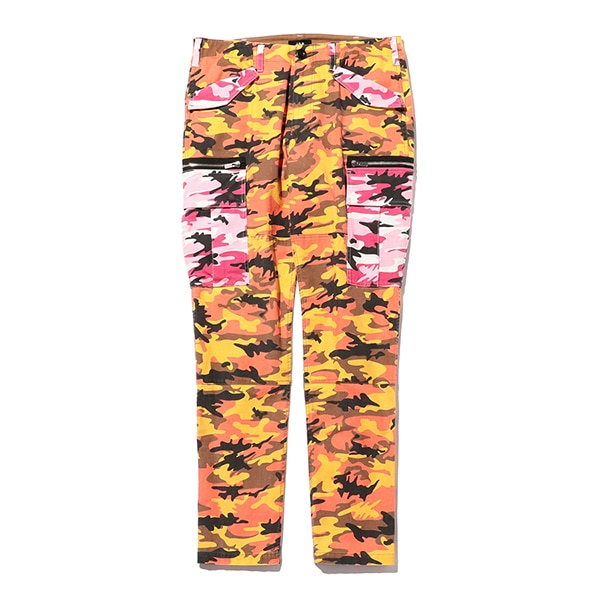 Color Camo Pants