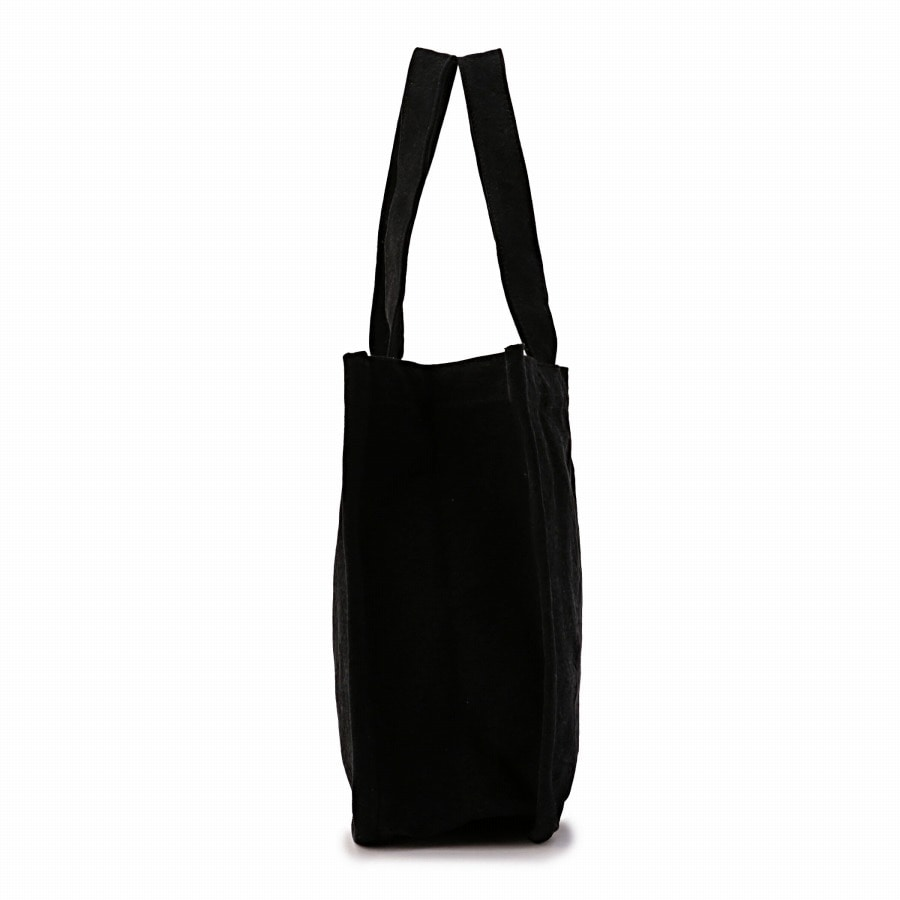 Logo Embroidered Tote Bag 詳細画像 Black 1