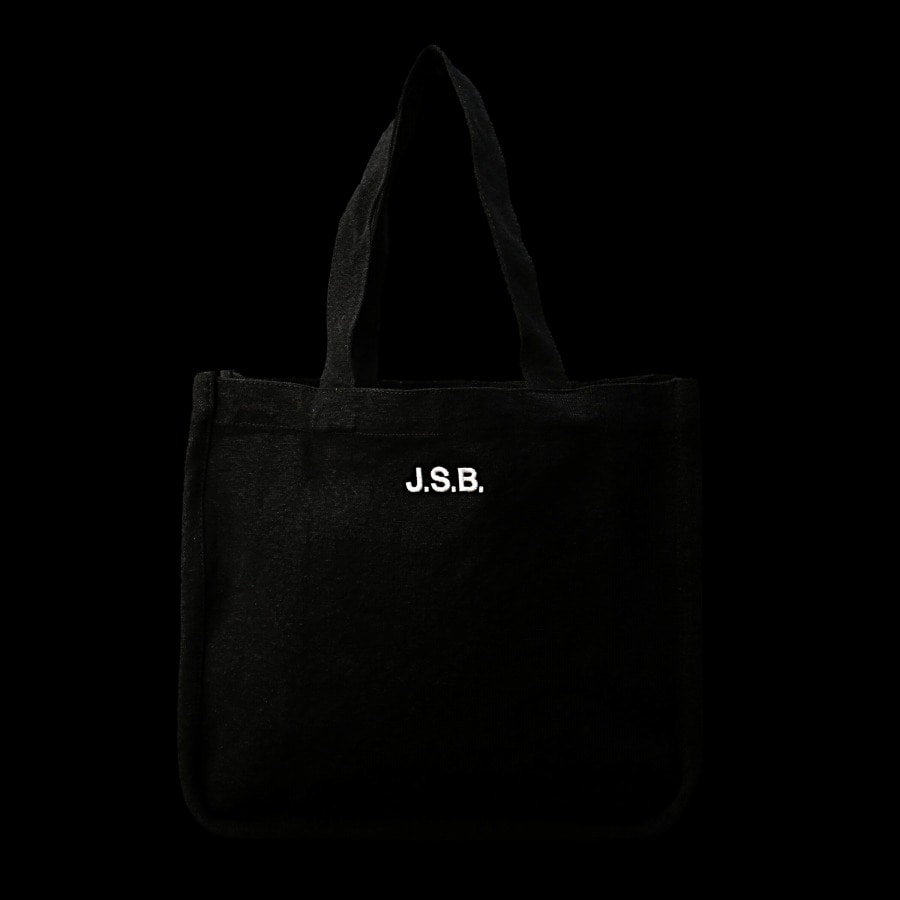 Logo Embroidered Tote Bag 詳細画像 Black 10
