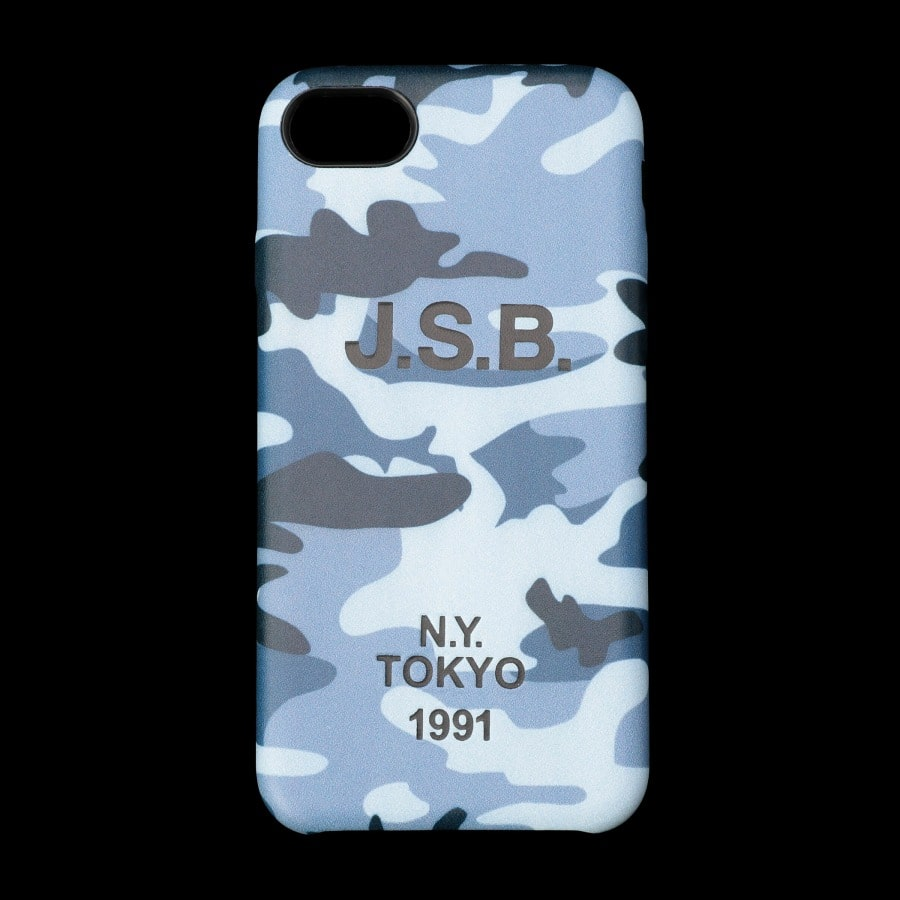 Color Camo iPhone 7.8 Case 詳細画像 Blue 10