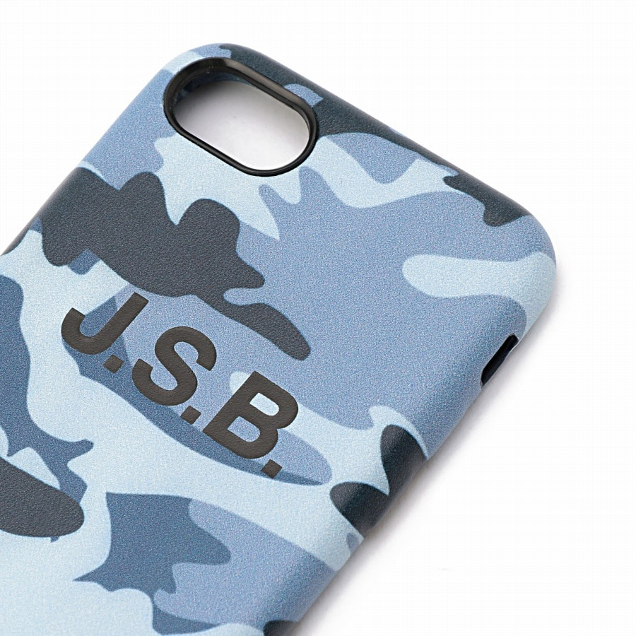 Color Camo iPhone 7.8 Case 詳細画像 Blue 3