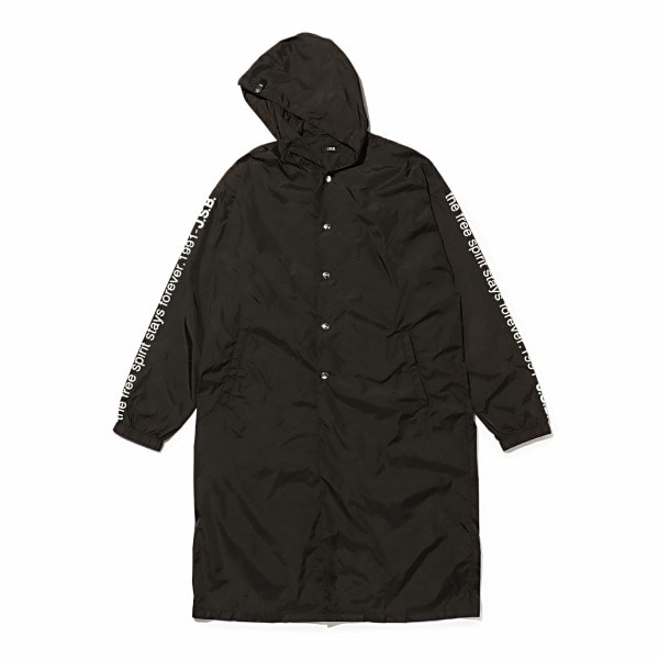 Logo Long Hood Jacket