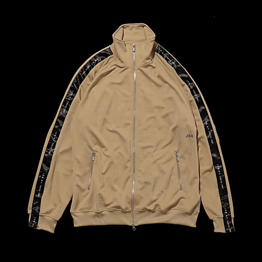 Zipper Track Top 詳細画像 Beige 10