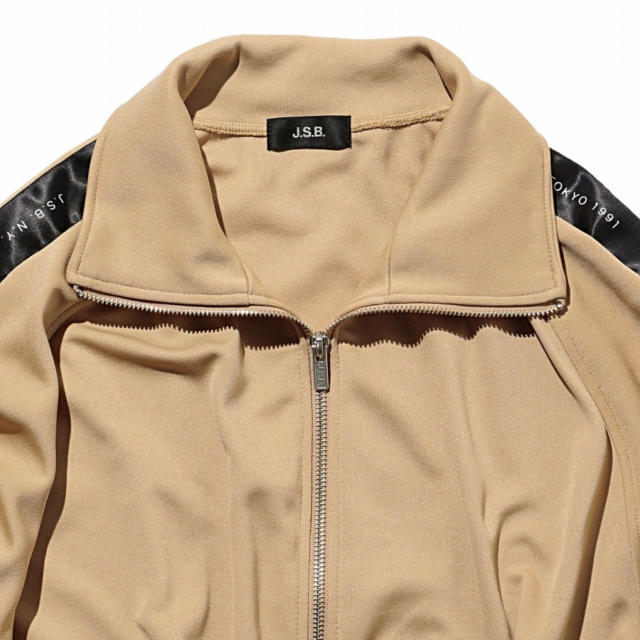 Zipper Track Top 詳細画像 Beige 3