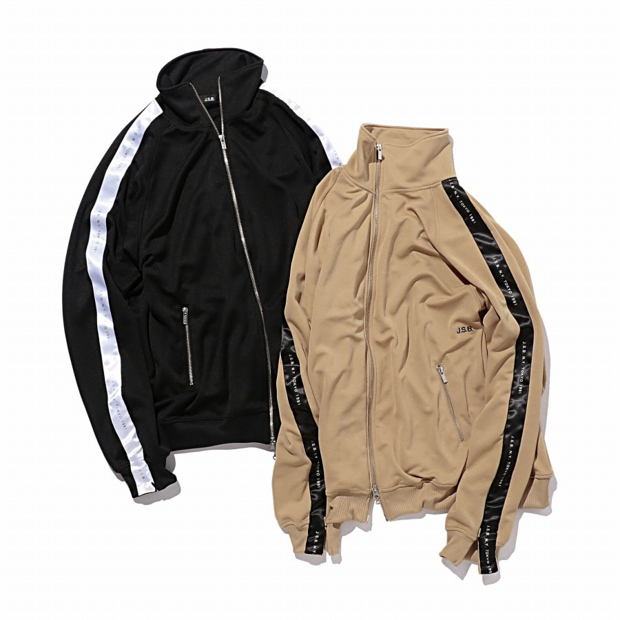 Zipper Track Top 詳細画像 Beige 9