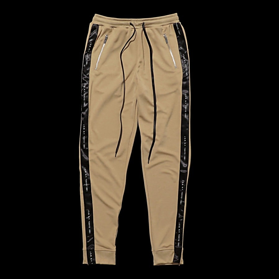 Zipper Track Pants 詳細画像 Beige 10