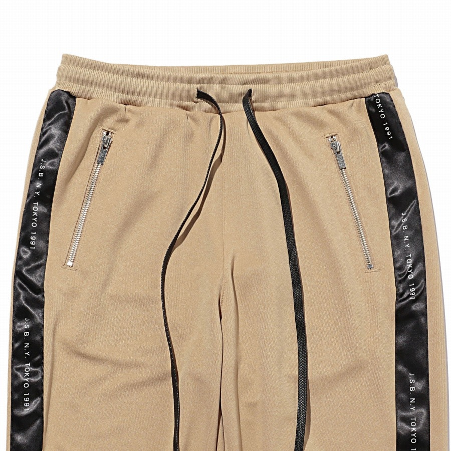 Zipper Track Pants 詳細画像 Beige 2