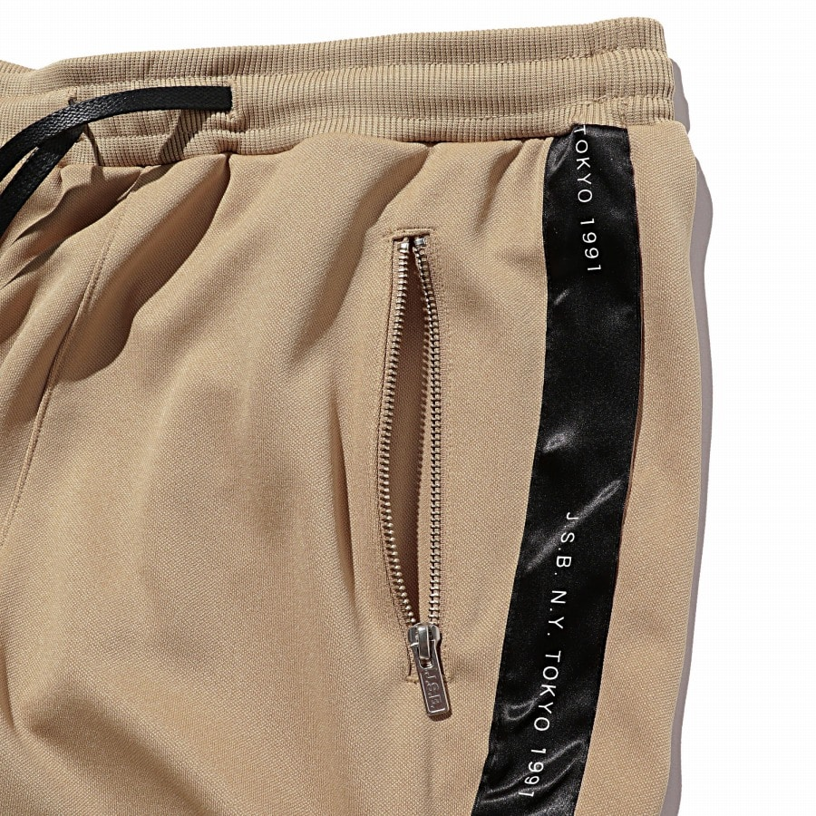 Zipper Track Pants 詳細画像 Beige 3