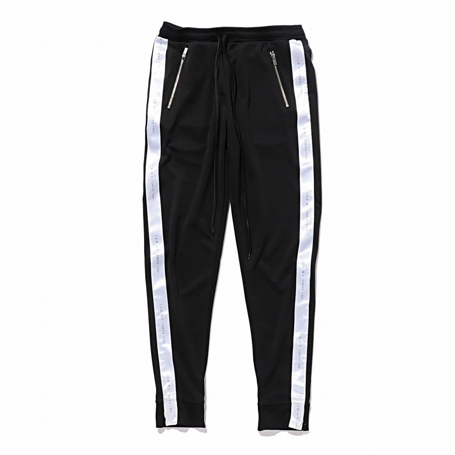 Zipper Track Pants 詳細画像 Black 1