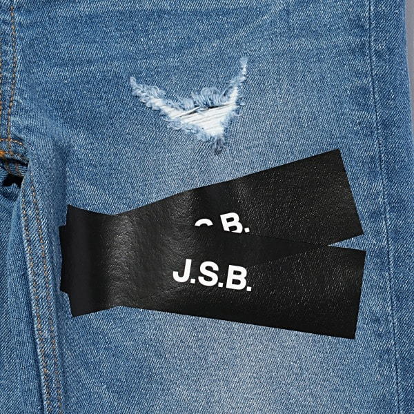 Pasted Logo Denim Pants 詳細画像