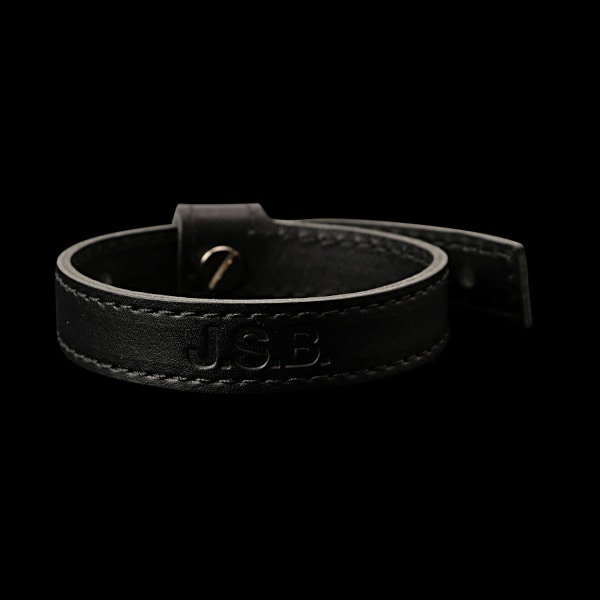 Logo Leather Bracelet 詳細画像