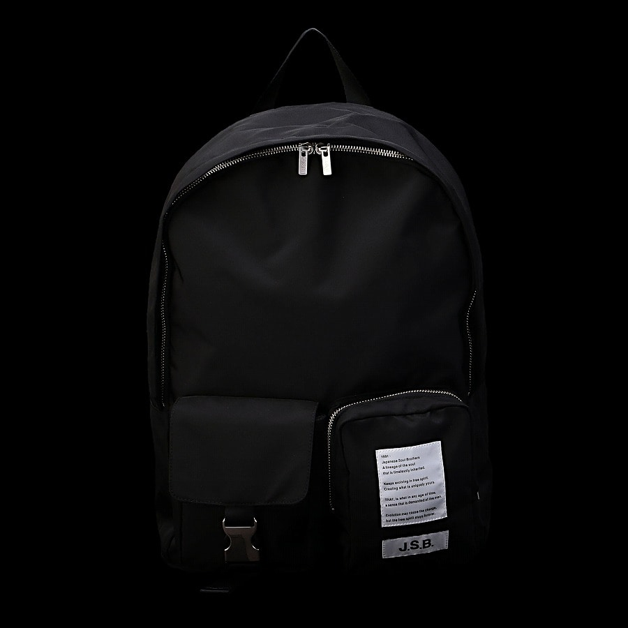 Logo Pocket Backpack 詳細画像 Black 10