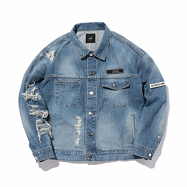 Crush Denim Jacket