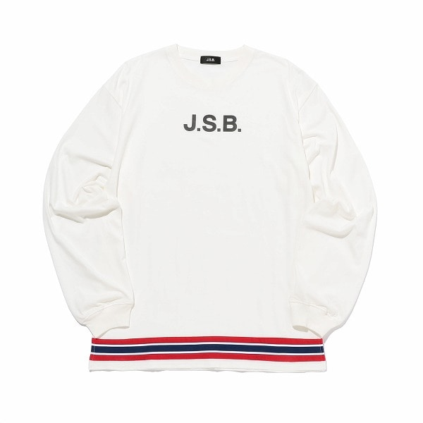 Horizontal Tricolor L/S Tee