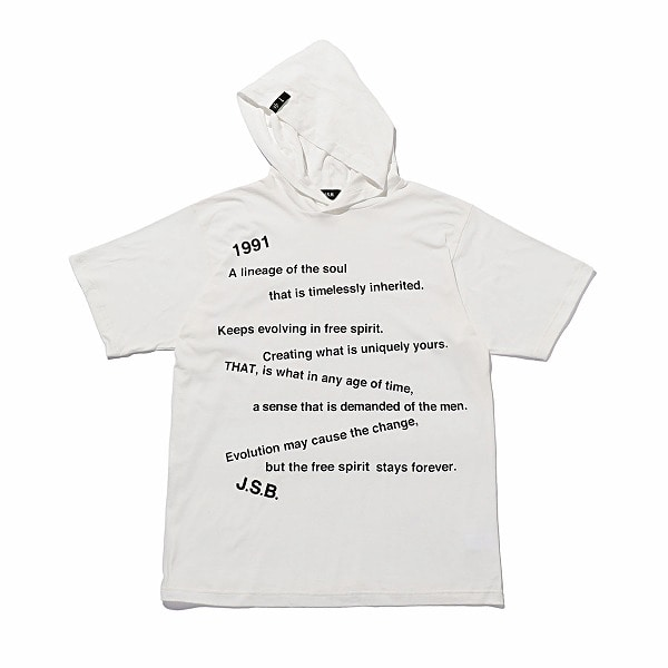 Randomness Message Hoodie Tee