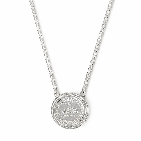 Logo Coin Necklace