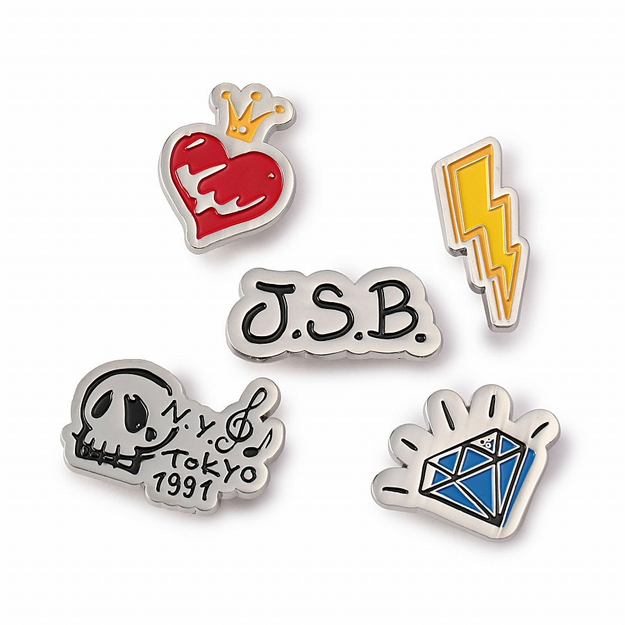 Iconic Logo Pins 詳細画像 Red 3