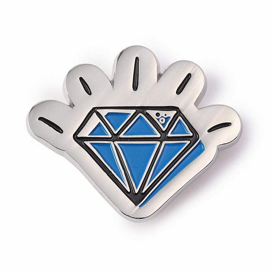 Iconic Logo Pins 詳細画像 Blue 1