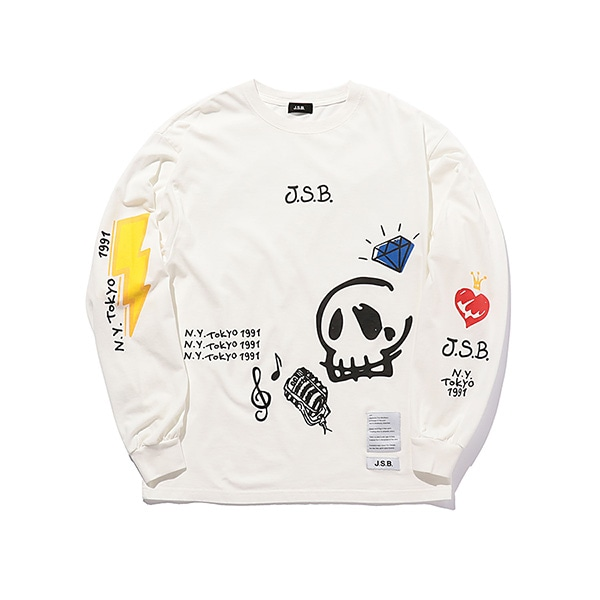 Iconic Music Logo L/S Tee