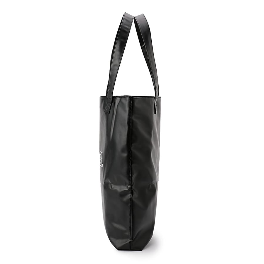 Outline Logo Leather Tote Bag 詳細画像 Black 2