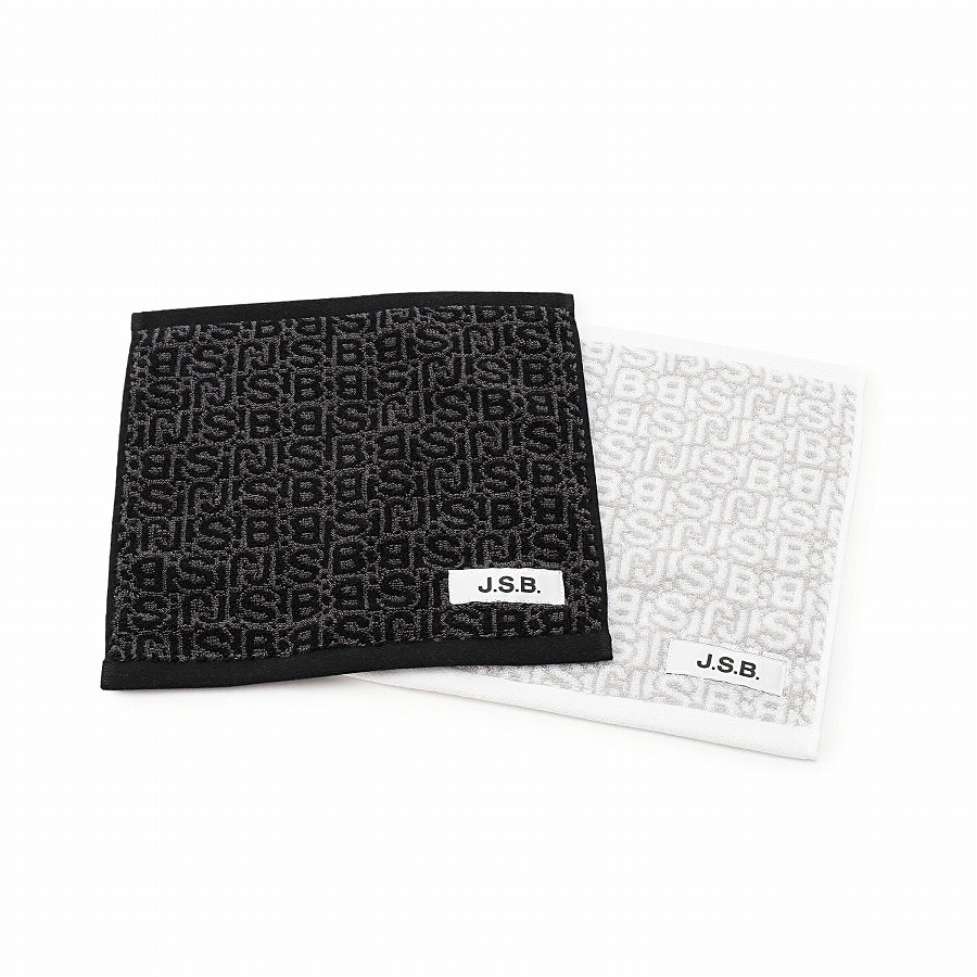 Monogram Hand Towel 詳細画像 White 4