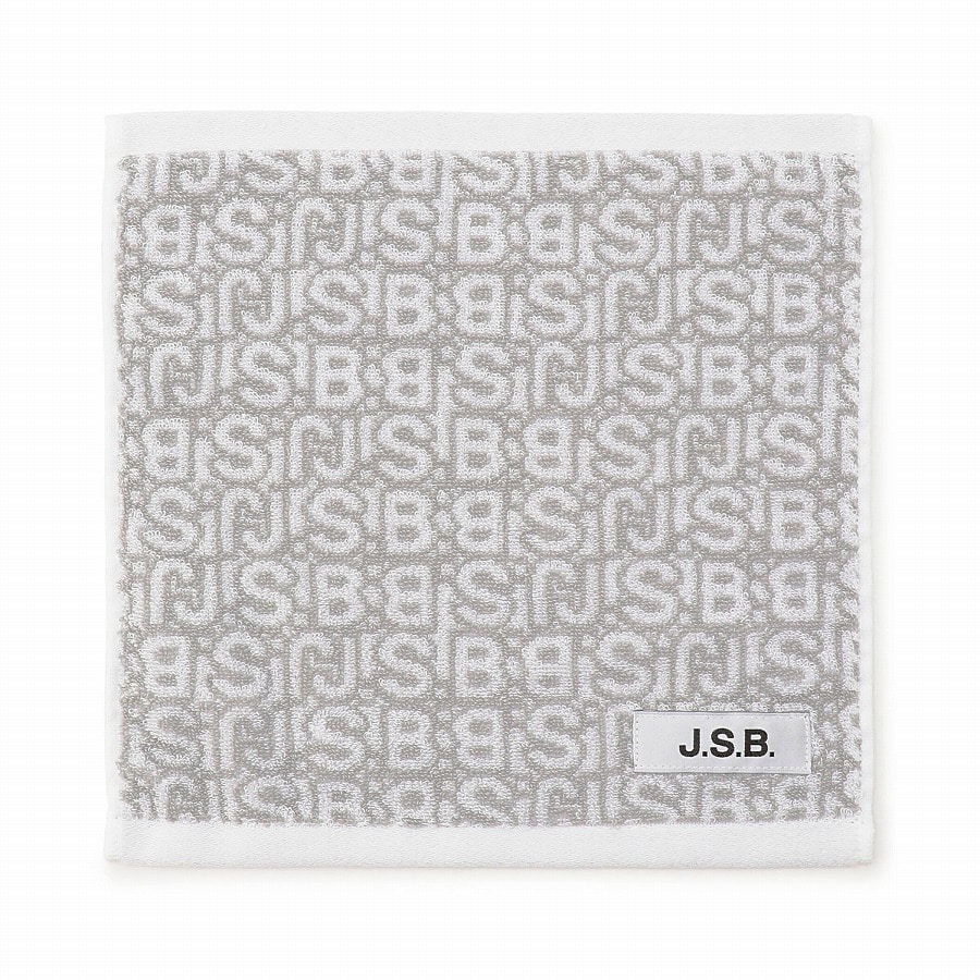Monogram Hand Towel 詳細画像 White 1