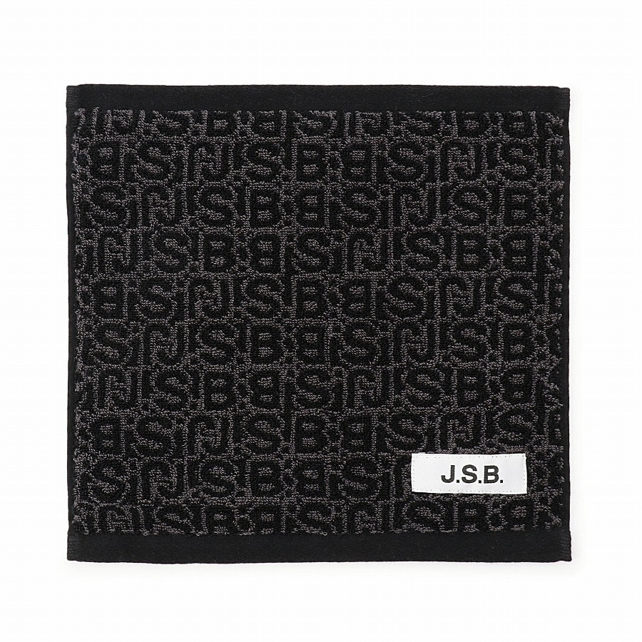 Monogram Hand Towel 詳細画像 Black 1